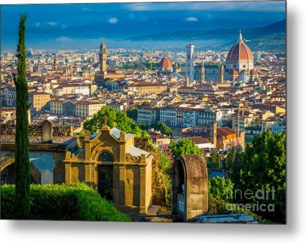 Florentine Vista Metal Print