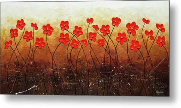 Flores De Mi Jardin Metal Print