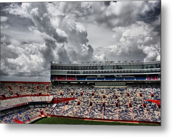 Florida Field Metal Print