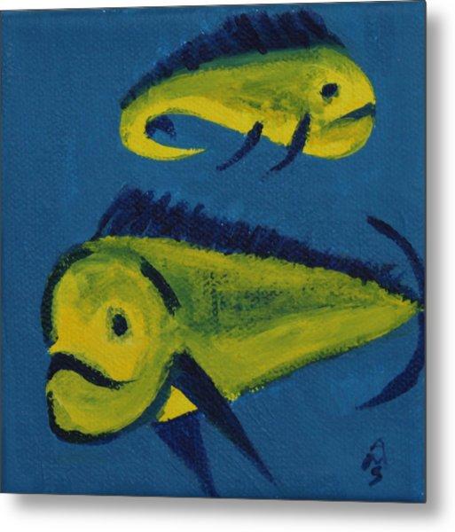Florida Fish Metal Print