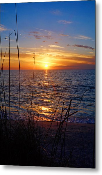 Florida Gulf Coast Sunset Metal Print