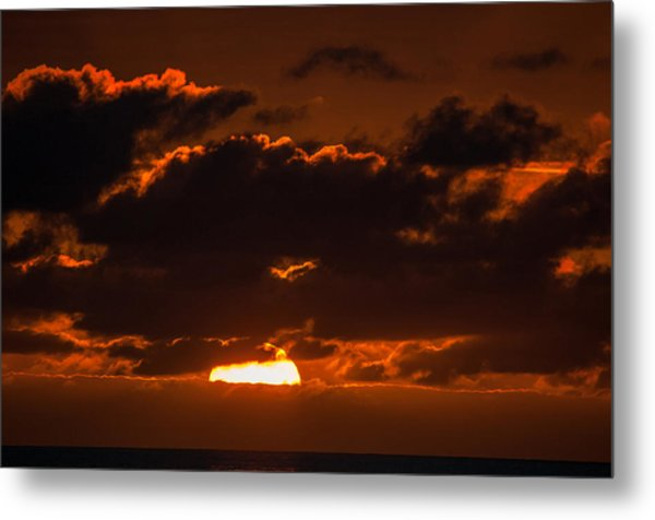 Florida Keys Sunrise Metal Print