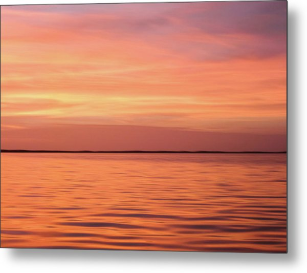 Florida Keys Sunset Impressions Metal Print