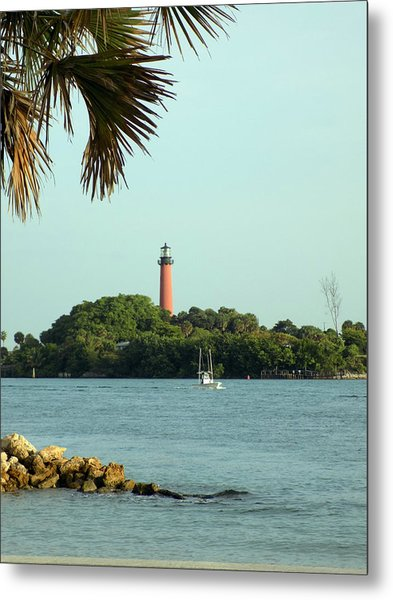 Florida Lighthouse 3 Metal Print