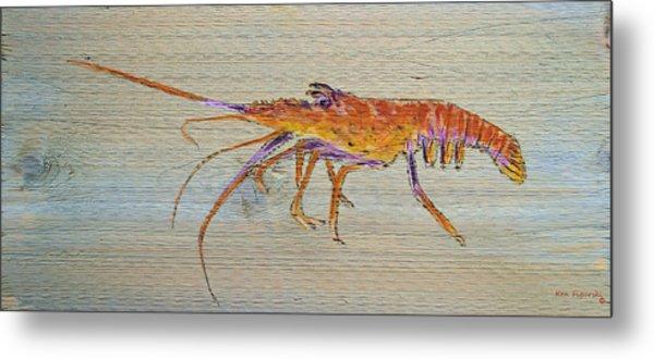 Florida Lobster Metal Print