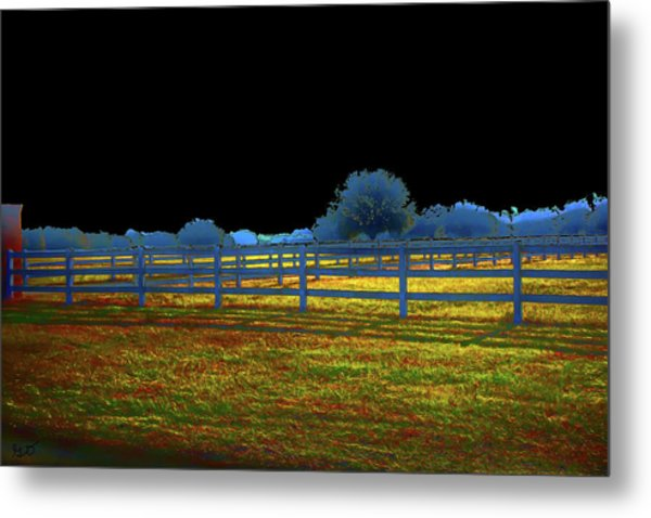 Florida Ranchland Metal Print