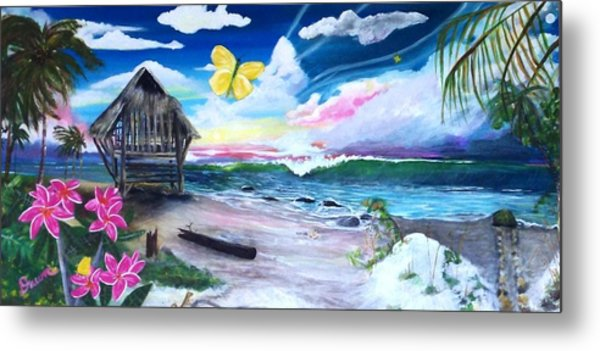 Florida Room Metal Print