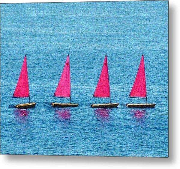 Flotilla Metal Print by John Bradburn