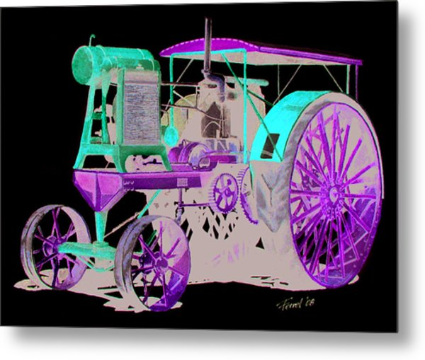 Flour City Gas Tractor Metal Print
