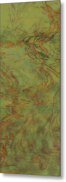 Flow Improvement In The Grass Metal Print