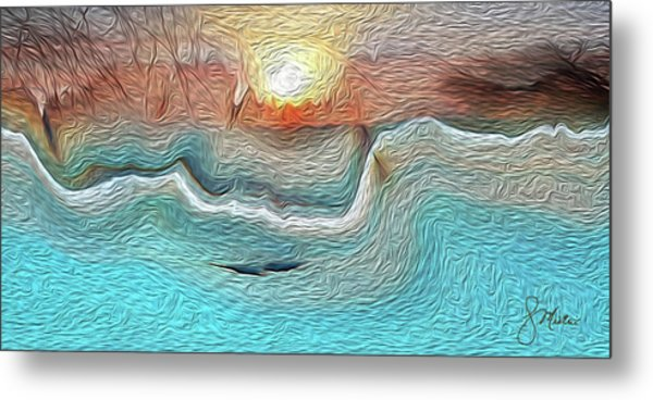 Flow Of Creation Metal Print