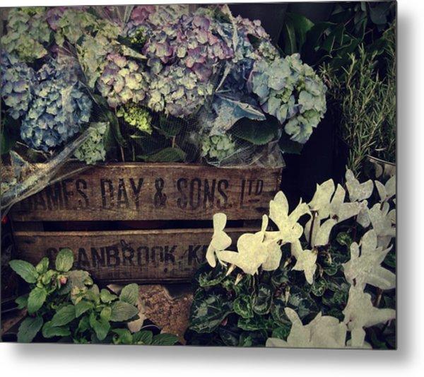 Flower Box Metal Print by JAMART Photography