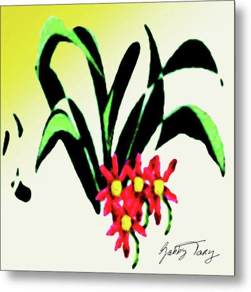 Flower Design #2 Metal Print