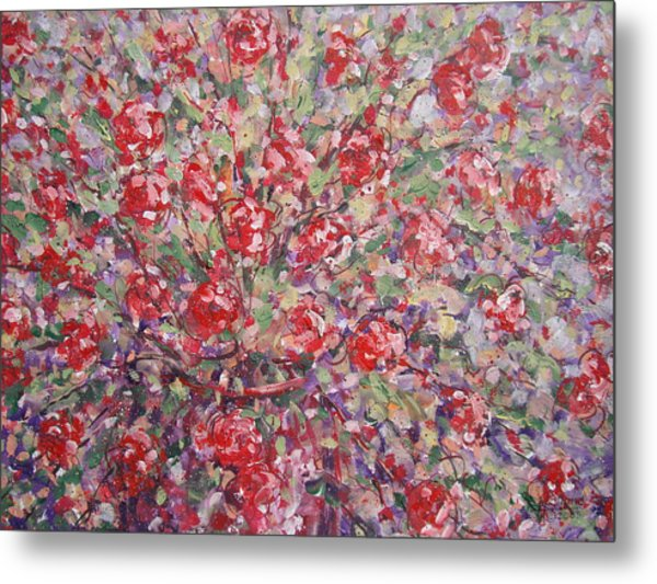 Flower Feelings. Metal Print