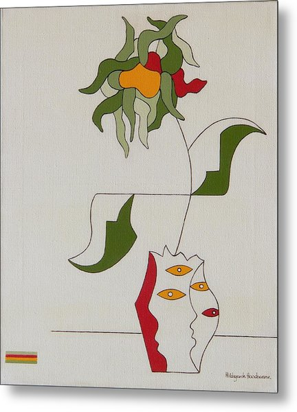 Flower Metal Print by Hildegarde Handsaeme