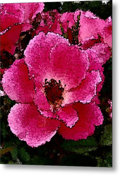 Flower Painting Collection 19 Metal Print