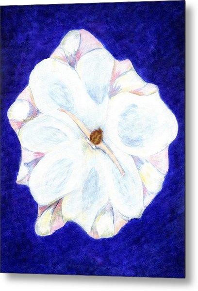 Flower Princess - Www.jennifer-d-art.com Metal Print by Jennifer Skalecke