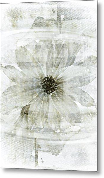 Flower Reflection Metal Print by Frank Tschakert