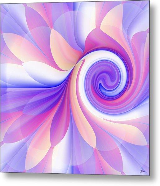 Flowering Pastel Metal Print