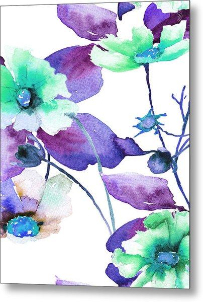 Flowers 01 Metal Print