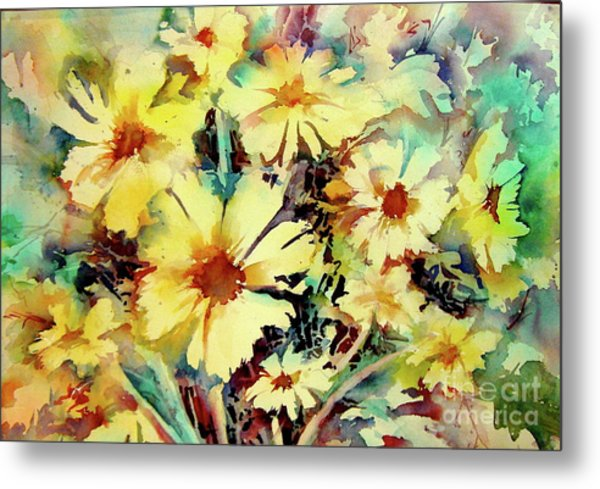 Flowers Are The Sweetest Things Metal Print