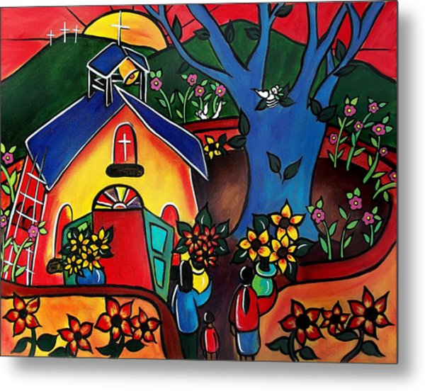 Flowers For The Church #2 Metal Print