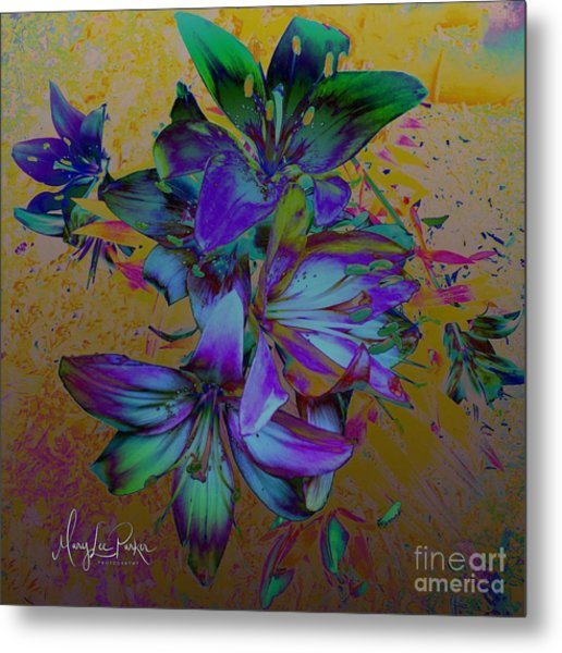 Flowers For The Heart Metal Print