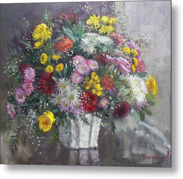 Flowers For Viola Metal Print