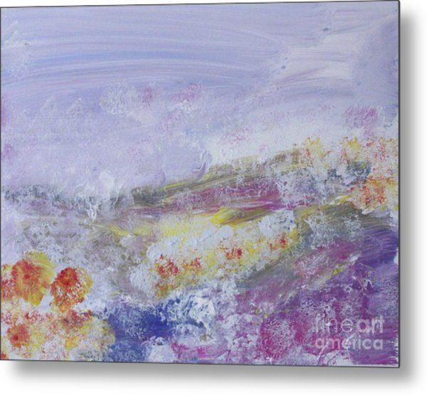 Flowers In The Ether Metal Print