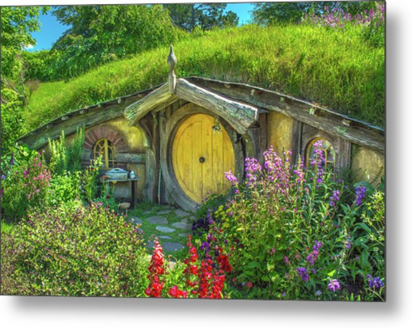 Flowers In The Shire Metal Print