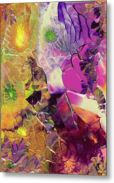 Flowers Of The Cosmic Sea Metal Print