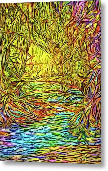 Flowing River Vision Metal Print