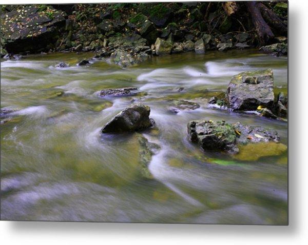 Flowing Water 2 Metal Print by Mark Platt