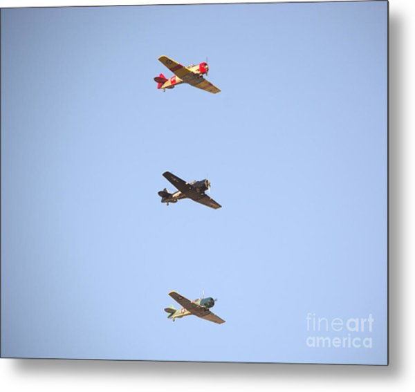 Fly Boys Metal Print