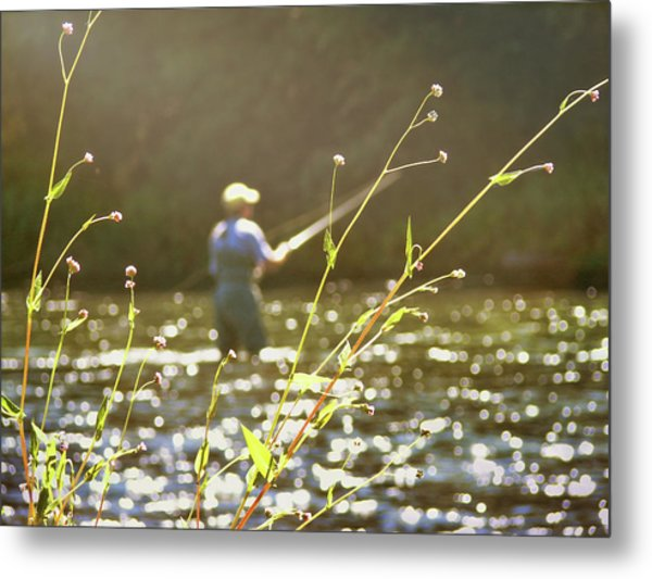 Fly Fishing Metal Print by JAMART Photography