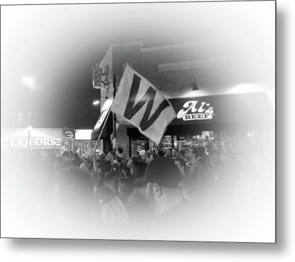 Fly The W Metal Print