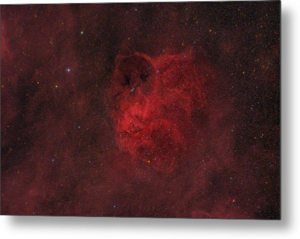 Flyihng Owl Nebula Metal Print by Brian Peterson