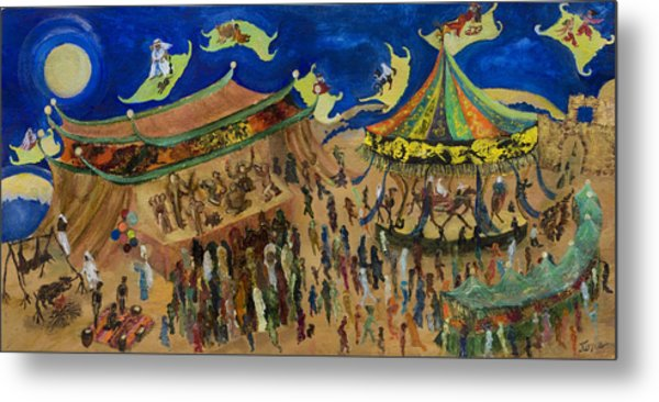 Flying Carpets Metal Print by Ione Citrin