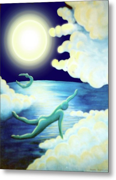Flying Dream 2 Metal Print by Barbara Stirrup
