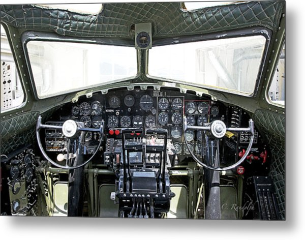 Flying Fortress Metal Print