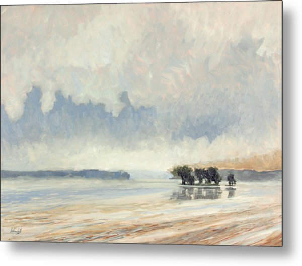 Fog Between The Storms Metal Print by Anthony Sell