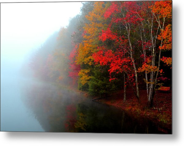 Clearing Fog Metal Print