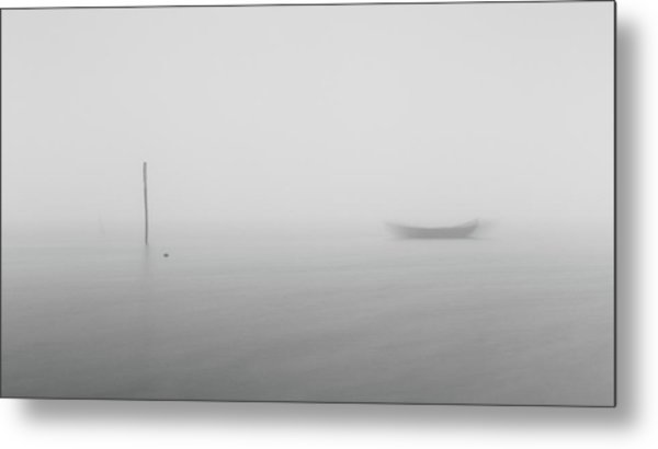 Metal Print featuring the photograph Fog Day 2 by Bruno Rosa
