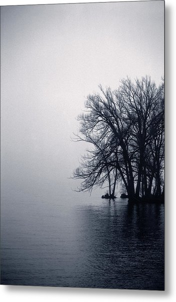 Fog Day Afternoon Metal Print