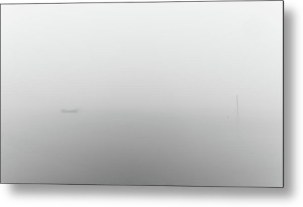 Metal Print featuring the photograph Fog Day by Bruno Rosa