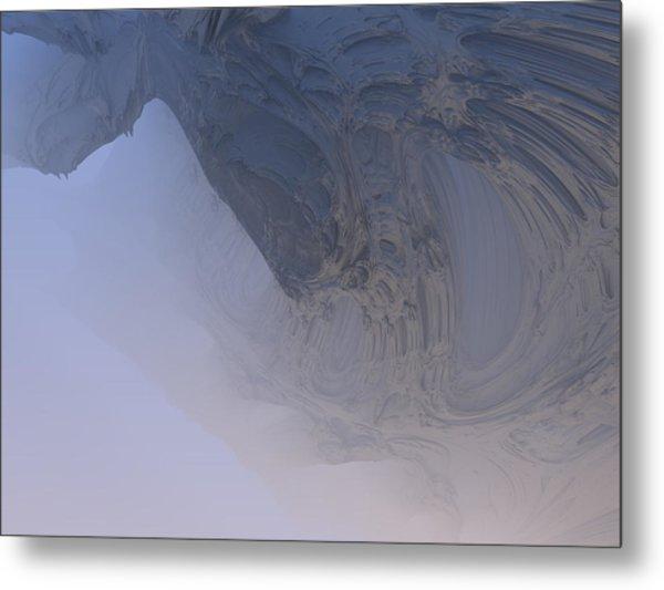 Fog In The Cave Metal Print