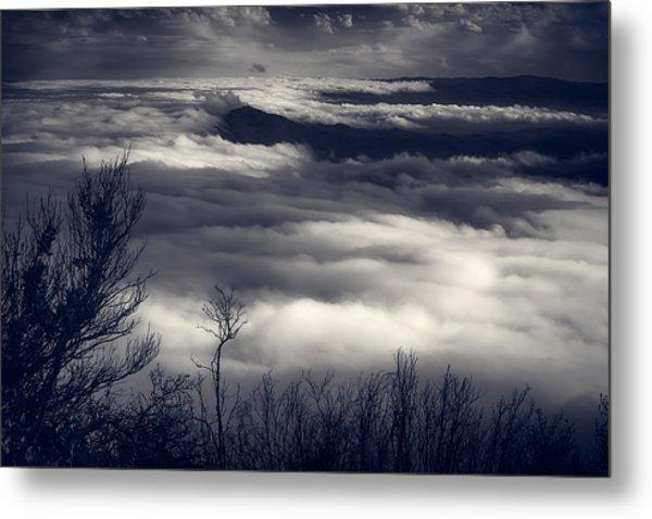 Fog Wave Metal Print