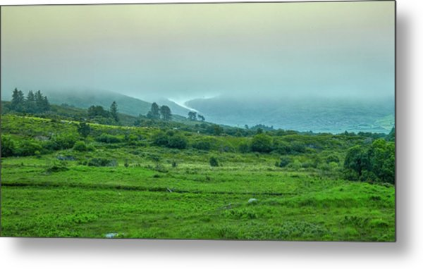 Metal Print featuring the photograph Foggy Day #g0 by Leif Sohlman