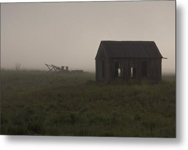 Foggy Morning  Metal Print by John Higby