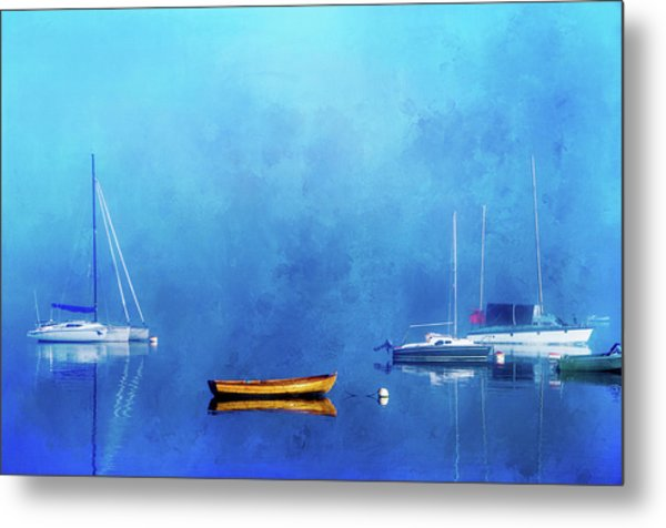 Upon The Still Waters Metal Print